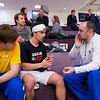2013 College Squash Individual Championships: Pedro Almeida (Franklin & Marshall) and Gavin Jones