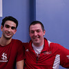 2013 College Squash Individual Championships: Amr Khaled Khalifa and Chris Abplanalp (St. Lawrence)