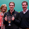 2013 College Squash Individual Championships: Todd Harrity (Princeton) and Parents