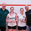 2013 College Squash Individual Championships: Pat Cosquer, Hansi Wiens, Myriam Kelly (Bates) and Sarah Loucks (Dartmouth)