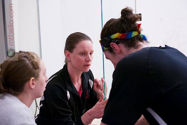 2013 College Squash Individual Championships: Shona Kerr and John Steele (Wesleyan)