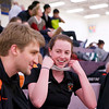2013 College Squash Individual Championships: Alexandra Sawin (Princeton) and Gavin Johnstone-Butcher