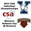 2013 College Squash Individual Championships - Holleran Cup - Round of 32: Lillian Fast (Yale) and Mina Shakarshy (Brown)