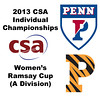 2013 College Squash Individual Championships - Ramsay Cup - Quarters: Yan Xin Tan (Penn) and Julie Cerullo (Princeton)