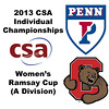 2013 College Squash Individual Championships - Ramsay Cup - Round of 32: Rachael Goh (Penn) and Jaime Laird (Cornell)