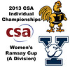 2013 College Squash Individual Championships - Ramsay Cup - Semis: Kanzy El Defrawy (Trinity) and Millie Tomlinson (Yale)