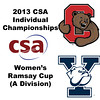 2013 College Squash Individual Championships - Ramsay Cup - Round of 32: Danielle Letourneau (Cornell) and Katie Ballaine (Yale)