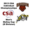 2013 College Squash Individual Championships - Molloy Cup - Round of 32: Blake Reinson (Brown) and James Kacergis (Navy)