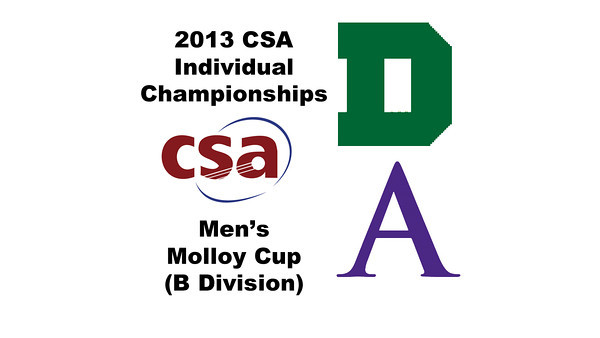 2013 College Squash Individual Championships - Molloy Cup - Quarters: Robert Maycock (Dartmouth) and Noah Browne (Amherst)