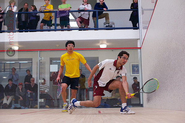 2013 Men's National Team Championships: Ahmed Abdel Khalek (Bates) and Kevin Chen (Williams)