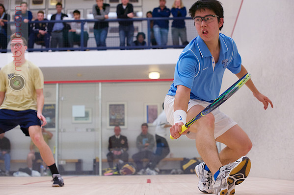2013 Men's National Team Championships: Anthony Zou (Columbia) and Hunter Beck (Navy)