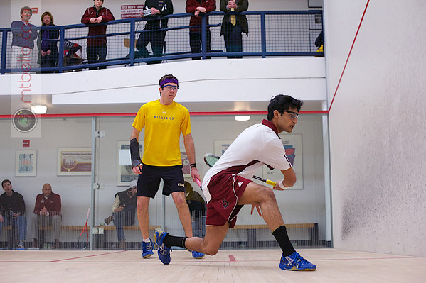 2013 Men's National Team Championships: Jack Ervasti (Williams) and Nabil Saleem (Bates)