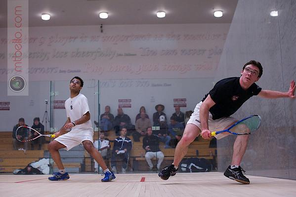 2013 Men's National Team Championships: Karm Kumar (Rochester) and Tom Mullaney (Harvard)