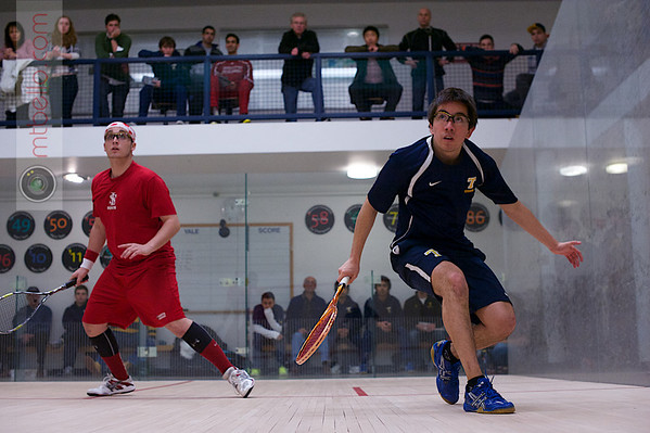 2013 Men's National Team Championships: Miled Zarazua (Trinity) and Sebastian Riedelsheimer (St. Lawrence)