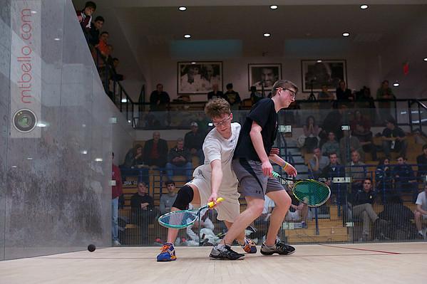 2013 Men's National Team Championships: Neil Cordell (Rochester) and Brandon McLaughlin (Harvard)