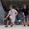 2013 Men's National Team Championships: Neil Cordell (Rochester) and Brandon McLaughlin (Harvard)<br /> <br /> Published on page 20 of Squash Magazine (December 2013)