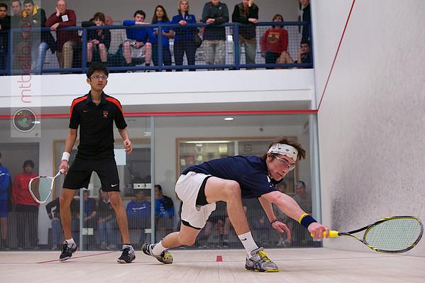 2013 Men's National Team Championships: Vivek Dinodia (Princeton) and Charles Cutler (Franklin & Marshall)