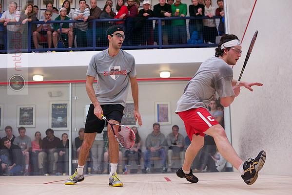 2013 Men's National Team Championships: Amr Khaled Khalifa (St. Lawrence) and Nicholas Sachvie (Cornell)