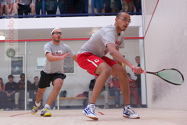 2013 Men's National Team Championships: Ibrahim Khan (St. Lawrence) and Aditiya Jagtap (Cornell)