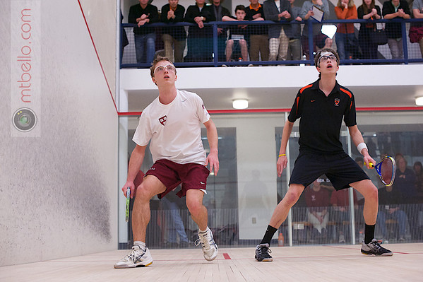 2013 Men's National Team Championships: Matt Roberts (Harvard) and David Hoffman (Princeton)