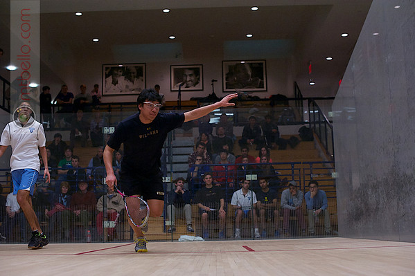 2013 Men's National Team Championships: Ramit Tandon (Columbia) and Kevin Chen (Williams)