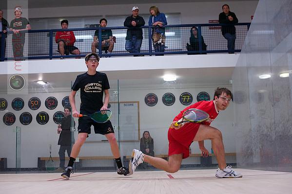 2013 Men's National Team Championships: Sam Henderson (Boston College) and Jacob Roscoe (Boston University)