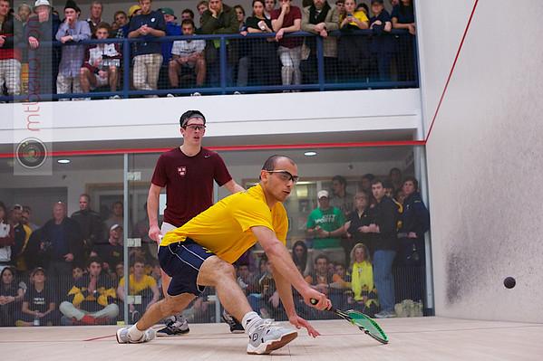 2013 Men's National Team Championships: Zeyad Elshorfy (Trinity) and Zeke Scherl (Harvard)