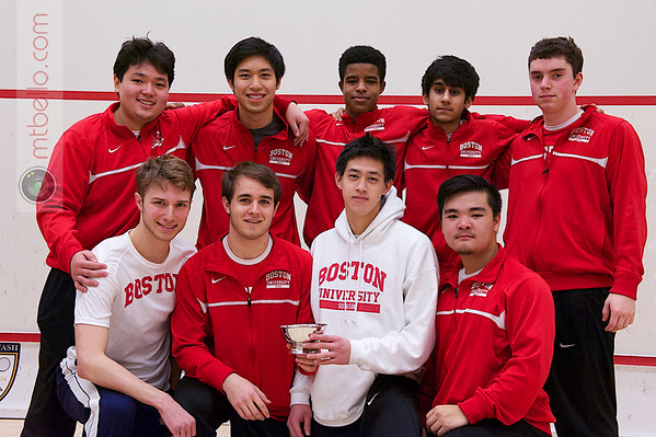 2013 Men's National Team Championships: (Boston University)