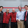 2013 Men's National Team Championships: Stanford captains and coaches