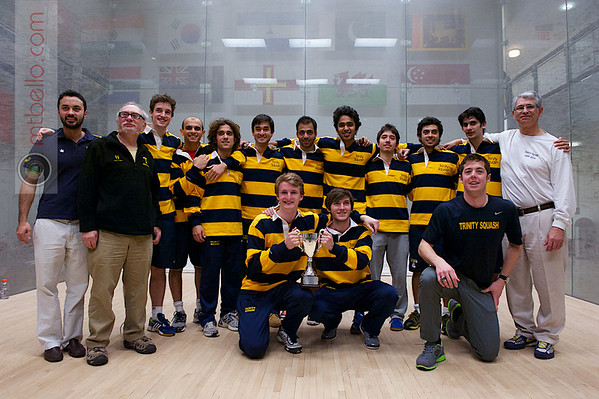 2013 Men's National Team Championships: Potter Cup Champions Trinity College