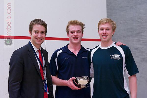 2013 Men's National Team Championships: Jay Dolan and Spencer Hurst (Middlebury)