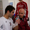 2013 Men's National Team Championships: Ahmed Abdel Khalek (Bates) and Pat Cosquer