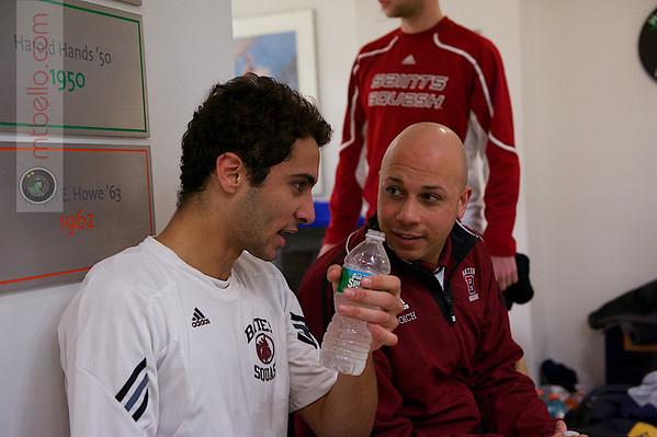 2013 Men's National Team Championships: Ahmed Abdel Khalek (Bates) and Pat Cosquer