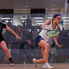 2013 NESCAC Championships: Halley Cruice (Trinity) and Alison Bragg (Bates)