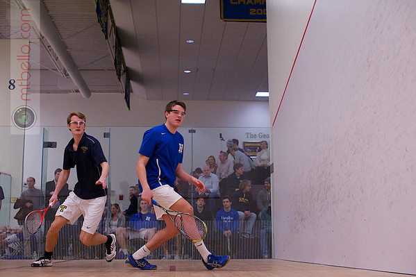2013 NESCAC Championships: Johan Detter (Trinity) and Edward Black(Hamilton)