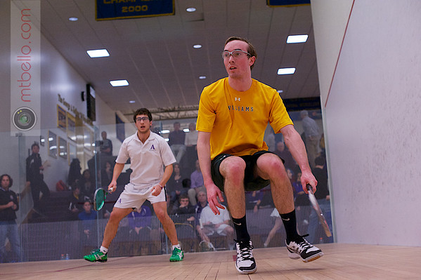 2013 NESCAC Championships: Alexander Greaves-Tunnell (Williams) and Scott Desantis (Amherst)