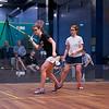 2013 NESCAC Championships: Abigail Jenkins (Middlebury) and Rachel Barnes (Bowdoin)
