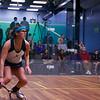 2013 NESCAC Championships: Catalina Pelaez (Trinity) and Nessrine Ariffin (Bates)