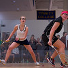 2013 NESCAC Championships: Jennifer Pelletier (Trinity) and Lauren Williams (Bates)