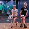 2013 NESCAC Championships: Charlotte Dewey (Middlebury) and Torey Lee (Bowdoin)