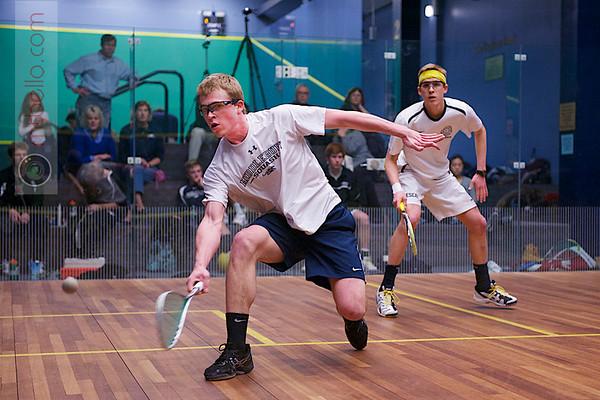 2013 NESCAC Championships: Jay Dolan (Middlebury) and Andrew Hilboldt (Bowdoin)
