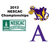 2013 NESCAC Championships: Nick Marks (Williams) and Charles Quintin (Amherst)