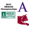 2013 NESCAC Championships: Nessrine Ariffin (Bates) and Chandler Lusardi (Amherst)