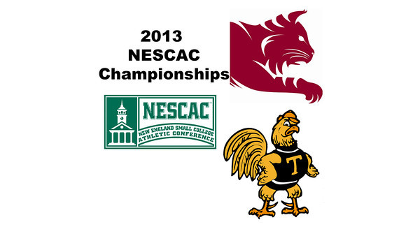 2013 NESCAC Championships: Wee Nee Low (Trinity) and Cheri-Ann Parris (Bates)