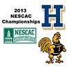 2013 NESCAC Championships: Vrishab Kotian (Trinity) and Marc Dudzik (Hamilton)