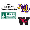 2013 NESCAC Championships: Alyssa Northrop (Williams) and Grace Zimmerman (Wesleyan)