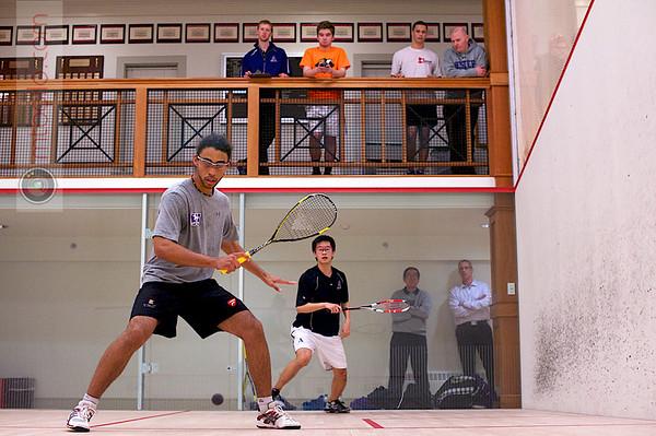 2013 Pioneer Valley Invitational: Kale Wilson (Western Ontario) and Kelvin Chen (Amherst)