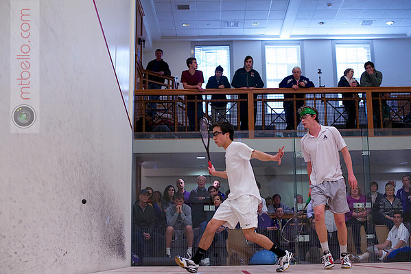 2013 Pioneer Valley Invitational: Noah Browne (Amherst) and Martin Bawden (Hamilton)