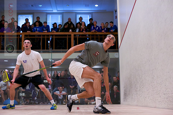 2013 Pioneer Valley Invitational: Ali Farag (Harvard) and Albert Shoihet (Western Ontario)