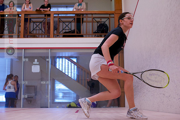 2013 Pioneer Valley Invitational: Laura Gemmell (Harvard) and Amanda Thorman (Hamilton)